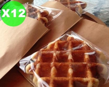 經典比利時列日脆皮鬆餅-12片入