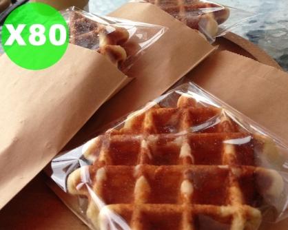 經典比利時列日脆皮鬆餅-80片入
