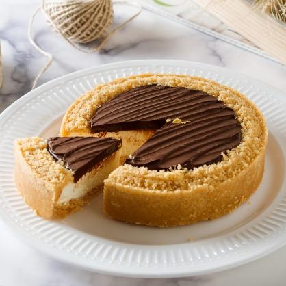 【比利時巧克力乳酪6吋】蘋果日報蛋糕評比冠軍、自由時報蛋糕評比冠軍