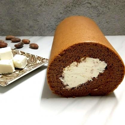 『初菓上和』低醣生酮-巧克力白乳酪捲