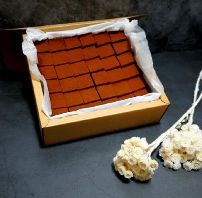 『初菓上和』低醣生酮-生巧克力蛋糕 (5.8吋)