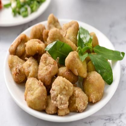 天貝益菌酥炸猴頭菇