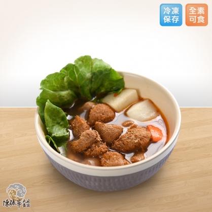 天貝益菌紅燒湯紅猴頭菇