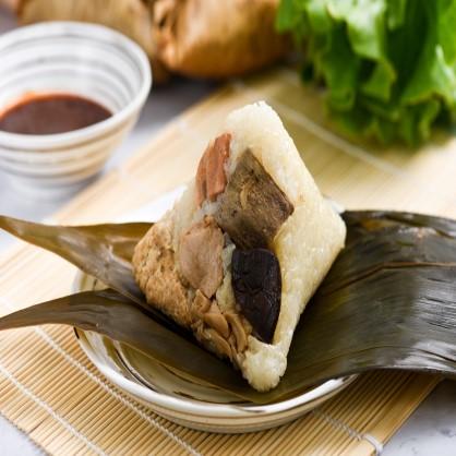竹鹽猴菇粽-5入