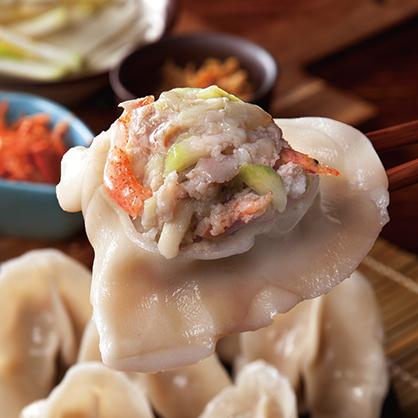 櫻花蝦瓠瓜冷凍水餃