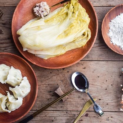 《高登島》金門酸白菜豬肉水餃