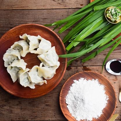 《高登島》韭菜豬肉水餃