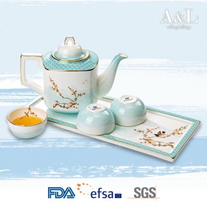 Plum Blossom Teapot Set 雪梅壺 AOL003
