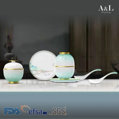 Bowl Set of 2 桃花源茶具配套