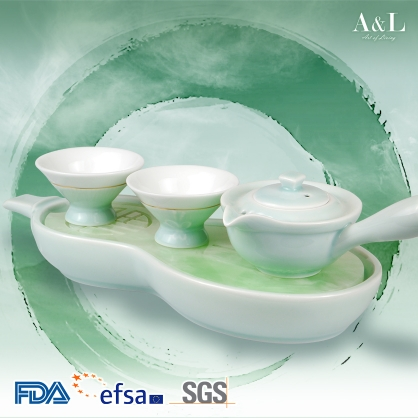 Entwined 4-Piece Tea Set 連理杯四件組 AOL007