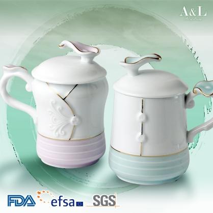 True Love Teacup & Lid Set of 2 雙人對杯溫口暖 AOL008