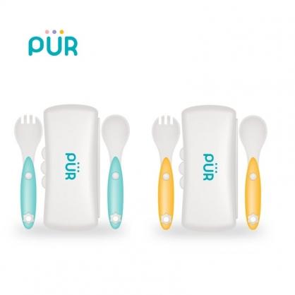 PUR 兒童學習餐具 叉匙盒裝組