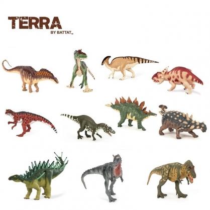 TERRA 棘龍包頭龍厚鼻龍劍龍櫛龍銳龍冰脊龍霸王龍 Dan LoRusso系列 恐龍模型玩偶
