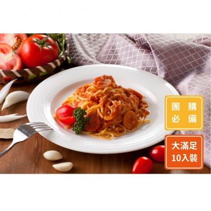 番茄德式香腸義大利麵10入組