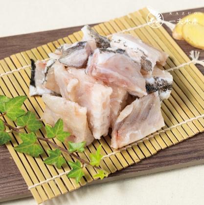 龍虎斑魚骨 段切 400g