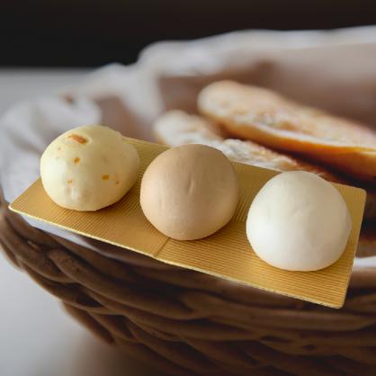 寶飽⊕小饅頭 (南瓜 黑糖 牛奶)