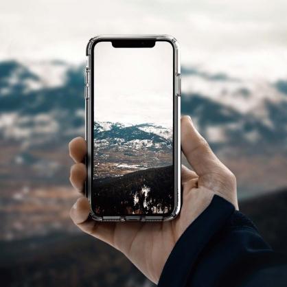 UNIQ|Clarion 軍規認證3米雙料透明防摔殼 iPhone X/XS/XR/XSMAX