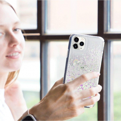 SwitchEasy|Flash 閃耀彩虹馬流沙手機殼 iPhone SE2/7/8/11/11 Pro/11 Pro Max