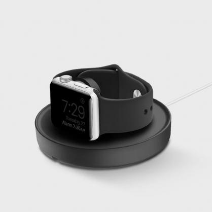 UNIQ|Dome Apple watch 手錶支架收納繞線器 黑色