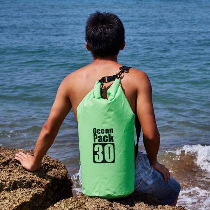 Ocean Pack|雙肩防水背包 30L 綠色