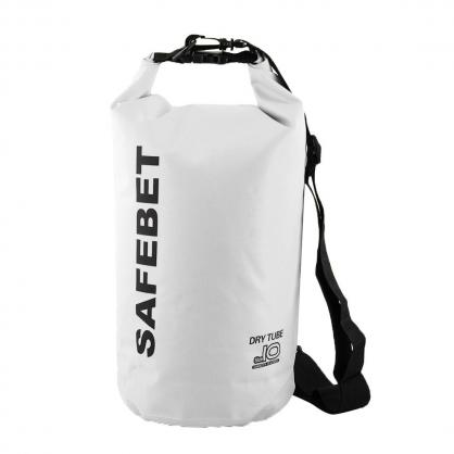 SAFEBET|側肩防水背包 10L 白色 (微瑕疵)