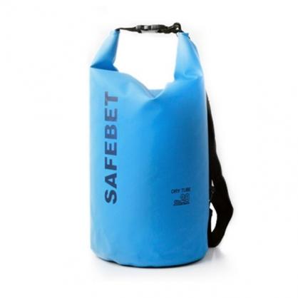 SAFEBET|側肩防水背包 20L 藍色