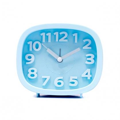正品韓國 Domesky|糖果色指針鬧鐘 拍攝道具 擺飾 藍色