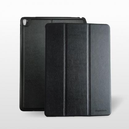 WazzaBee|Leather 平板立架保護套 黑色 iPad 9.7吋