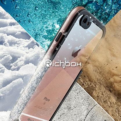 Richbox|極致防水保護殼 最輕薄防水神器 玫瑰金 iPhone 7/8