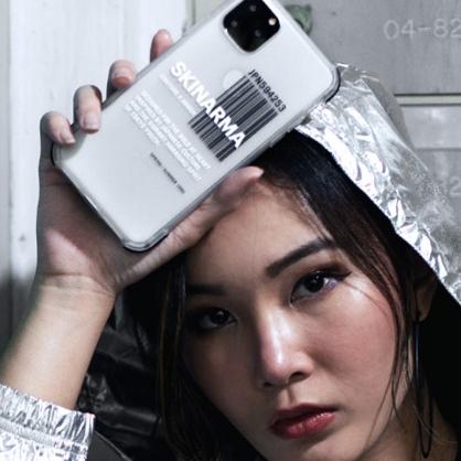 Skinarma 日本潮牌|Bakodo 耐衝擊防摔透明手機殼 透黑 iPhone11/11 Pro/11 Pro Max