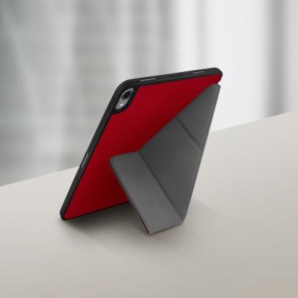 UNIQ|Transforma 輕薄三折可立式 帶筆槽平板皮套 iPad 10.2吋