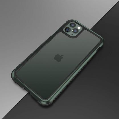 Switcheasy|GLASS REBEL 軍規防摔玻璃殼 夜幕綠 iPhone 11/11 Pro/11 Pro Max