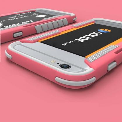 SOLiDE 阿瑞斯|iPhone6/6s 軍規可插卡防摔防撞手機殼
