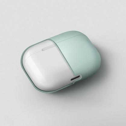 UNIQ |Lino AirPods Pro 素色簡約液態矽膠 藍牙耳機保護套 藍綠色