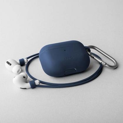 UNIQ | Vencer AirPods Pro 全包藍牙耳機矽膠保護套 海藍