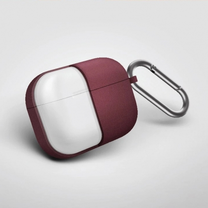 UNIQ | Vencer AirPods Pro 全包藍牙耳機矽膠保護套 紅色