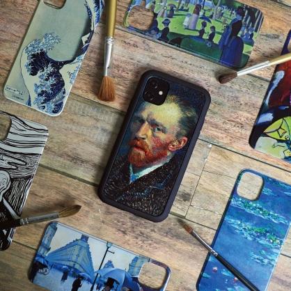 SOLiDE|維納斯 設計背蓋 iPhone11/11 Pro/11 Pro Max  名畫系列 #梵谷自畫像 #抽象 #睡蓮 #吶喊 #神奈川沖浪裏 #巴黎街景 #傑克島的星期天下午