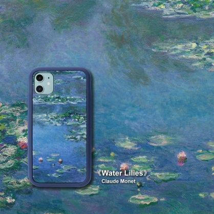 SOLiDE|維納斯 設計背蓋 名畫系列 睡蓮 iPhone11/11 Pro/11 Pro Max