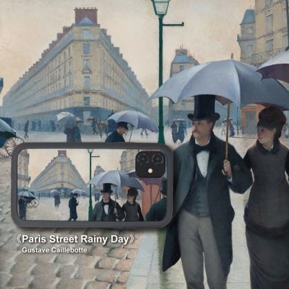 SOLiDE|維納斯 設計背蓋 名畫系列 巴黎街景 iPhone11/11 Pro/11 Pro Max