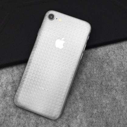 GLS 格那斯|壓紋全曲手機背面保護貼 交叉編織  OppoR17/iPhone7/8/Plus/XR/XS/X/XSMax