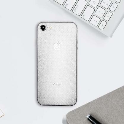 GLS 格那斯|壓紋全曲手機背面保護貼 閃點迷霧  OppoR17/iPhone7/8/Plus/XR/XS/X/XSMax