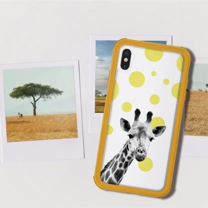 SOLiDE|維納斯 設計背蓋 長頸鹿 iPhone 6/7/8/plus/XS/X/MAX/XR