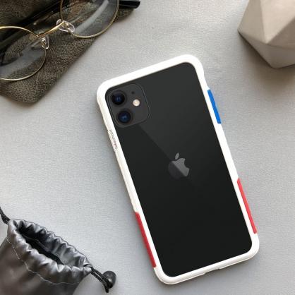 Telephant 太樂芬 NMDer 抗汙防摔框 OG白 iPhone全系列
