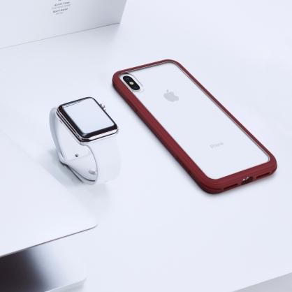 SOLiDE|維納斯 經典 軍規防摔手機殼 深殷紅 iPhone全系列