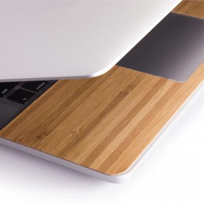 Innerexile|柔韌天然竹面防汙靠手貼 MacBook Pro 15吋