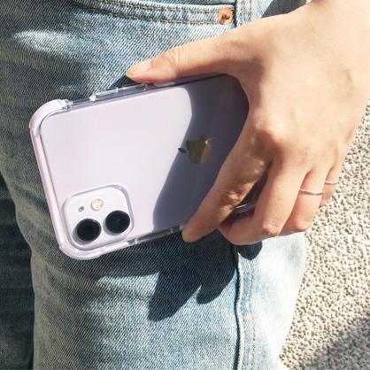UNIQ|Combat 四角強化軍規等級防摔三料保護殼 紫色 iPhone 11