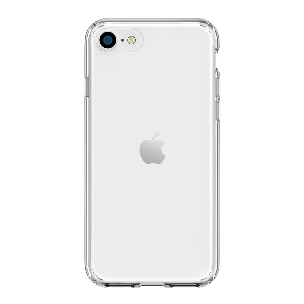 SwitchEasy|Crush 防摔雙料透明手機殼 iPhone SE2/7/8