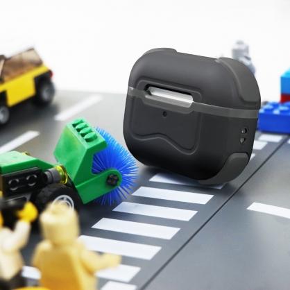 SOLiDE|AirPods Pro POCKET啵可玩色系列 可替換中框抑菌防摔殼 黑酷灰