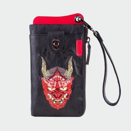 Skinarma 日本潮牌|IREZUMI 旅行護照皮夾 ( 可側背 + 手提 )