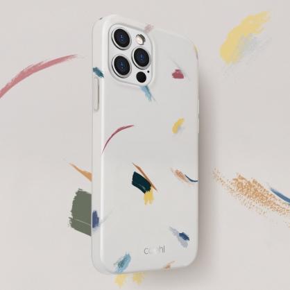 UNIQ|COEHL Reverie 彩繪筆刷設計全包覆防摔手機保護殼 iPhone 12/12 Pro/12 Pro Max